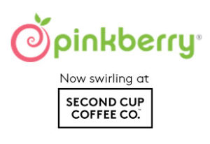 Pinkberry® Now swirling at Second Cup Coffee Co.